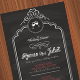 Black Wedding Invitation - GraphicRiver Item for Sale