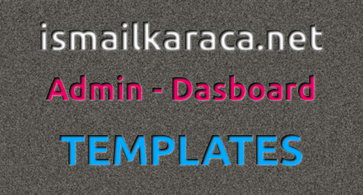 Admin - Dasboard Tempalte's