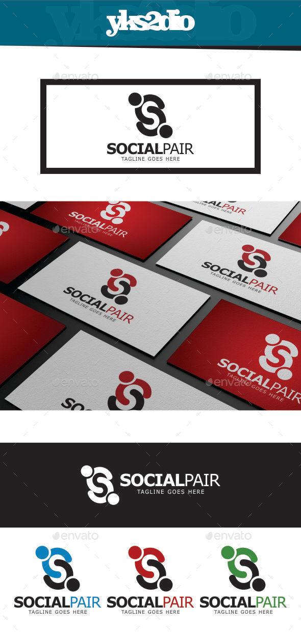 GraphicRiver Social Letter S Logo 9216807