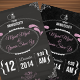 Chalkboard Invitaiton - GraphicRiver Item for Sale