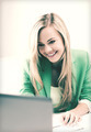 businesswoman with laptop in office - PhotoDune Item for Sale