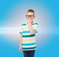 smiling little boy in eyeglasses - PhotoDune Item for Sale
