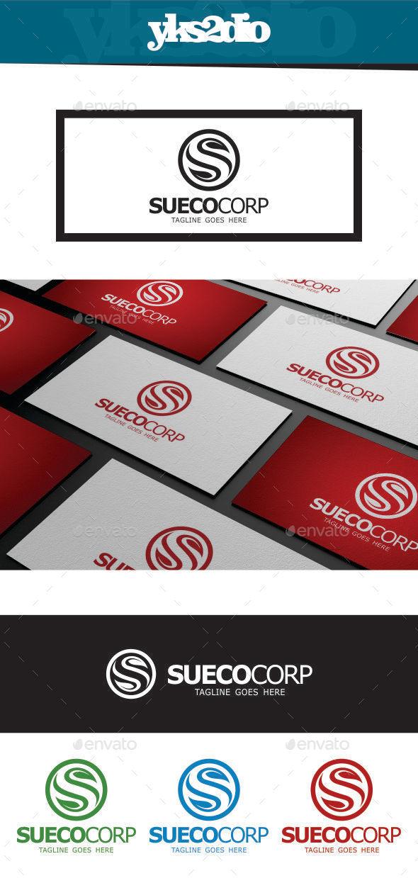GraphicRiver Eco Letter S Logo 9216820