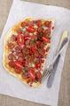 spanish tarte flambee with chorizo - PhotoDune Item for Sale