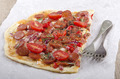 spanish tarte flambee with chorizo - PhotoDune Item for Sale