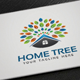 Home Tree Logo - GraphicRiver Item for Sale