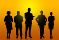 Silhouettes of business people - PhotoDune Item for Sale