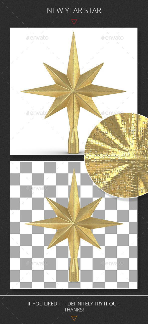 GraphicRiver New Year Star 9217506