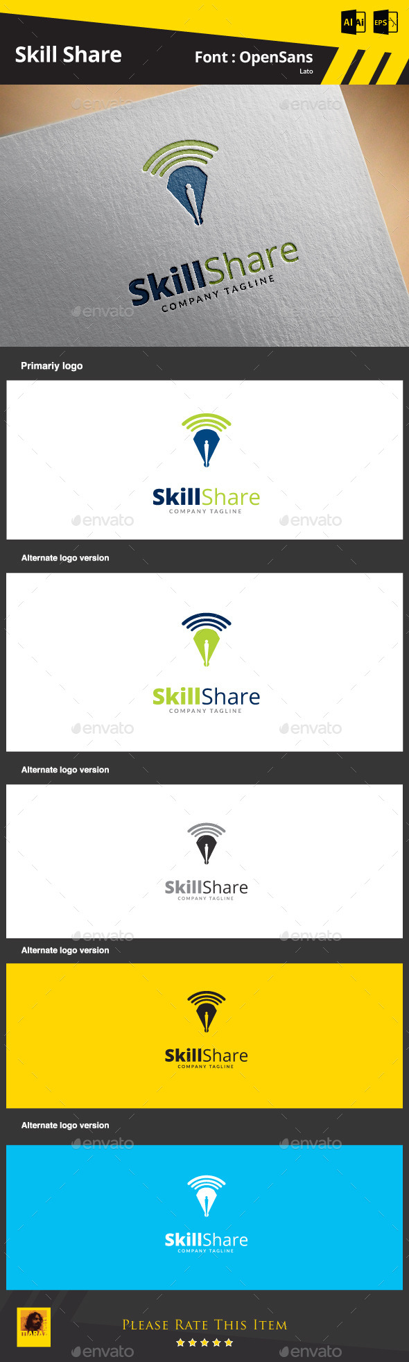 GraphicRiver Skill Share 9217655
