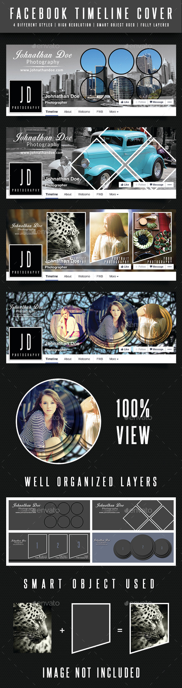 GraphicRiver Facebook Timeline Covers 9217668