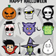 Halloween Sticker Set - GraphicRiver Item for Sale