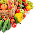 fruit and vegetable in basket - PhotoDune Item for Sale