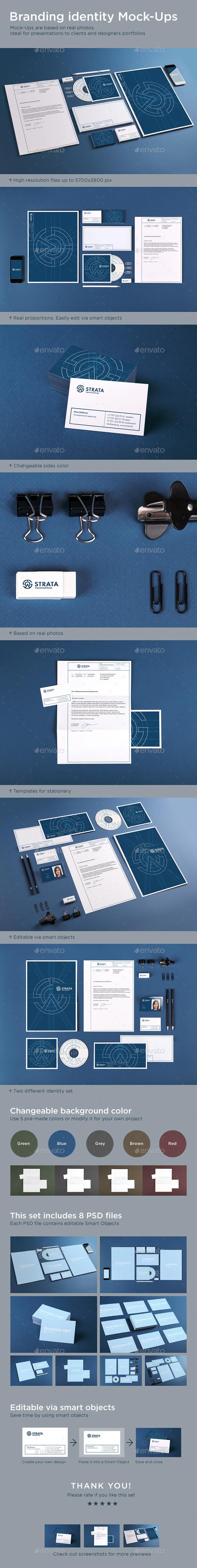 GraphicRiver Branding Identity Mock-Ups 9218158