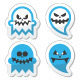 Halloween Scary Ghost Set - GraphicRiver Item for Sale