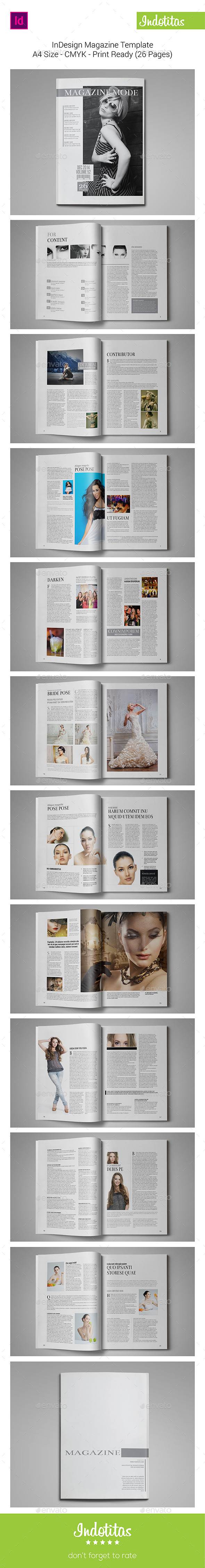 GraphicRiver InDesign Magazine Template 9218264