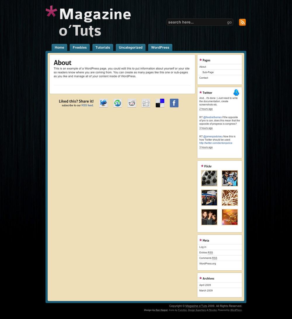 Magazine o'Tuts