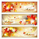 Autumn Banners with Foliage - GraphicRiver Item for Sale
