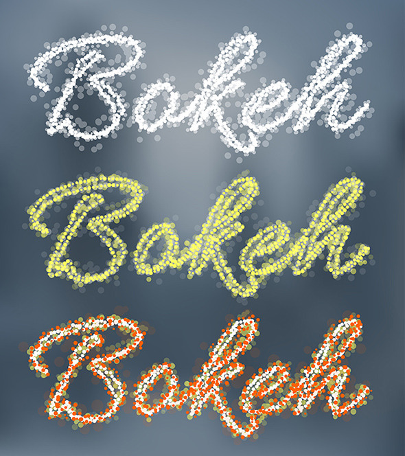 GraphicRiver Bokeh Graphic Styles 9219203