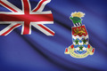 Flag blowing in the wind series - Cayman Islands - PhotoDune Item for Sale