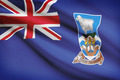 Flag blowing in the wind series - Falkland Islands - PhotoDune Item for Sale