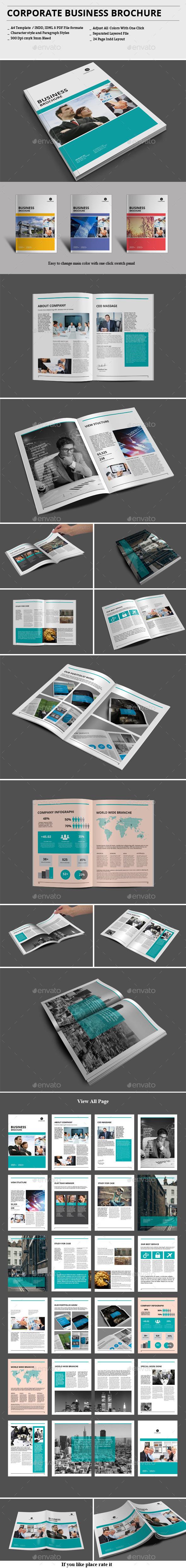 GraphicRiver Corporate Business Brochure 9219305