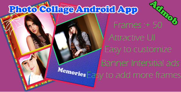 CodeCanyon Amazing Photo Collage Android App 9219478