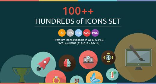 Awesome Icons Set