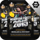 New Year Poster Flyer Template V. 2 - GraphicRiver Item for Sale