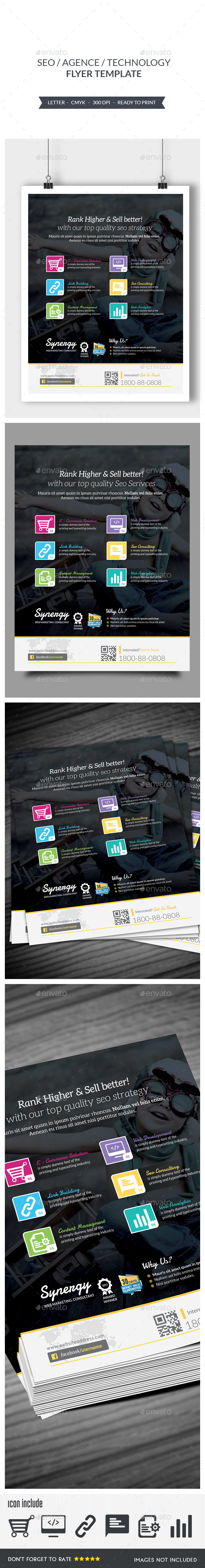 GraphicRiver Seo Flyer 9219753