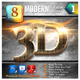 8 Modern 3D Exclusive Edition Vol.1 - GraphicRiver Item for Sale