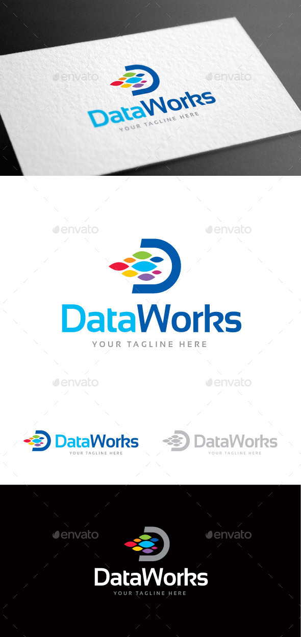 GraphicRiver Dataworks Logo Template 9220218