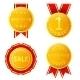 Golden Medals - GraphicRiver Item for Sale