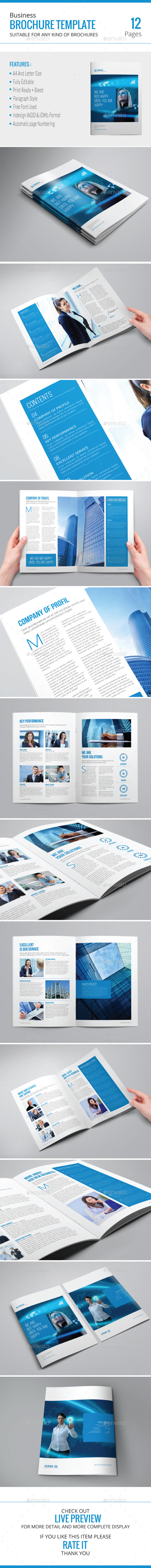 GraphicRiver Business Brochure Template 9220910