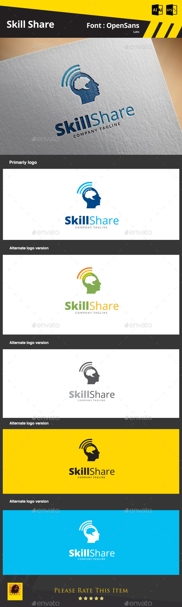 GraphicRiver Skill Share 9220919