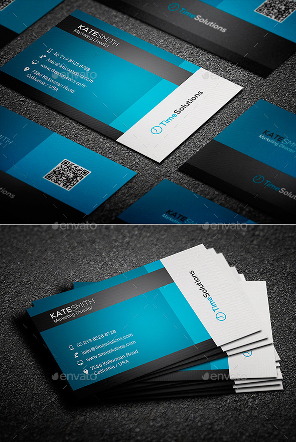 GraphicRiver Clean Business Card 9221030