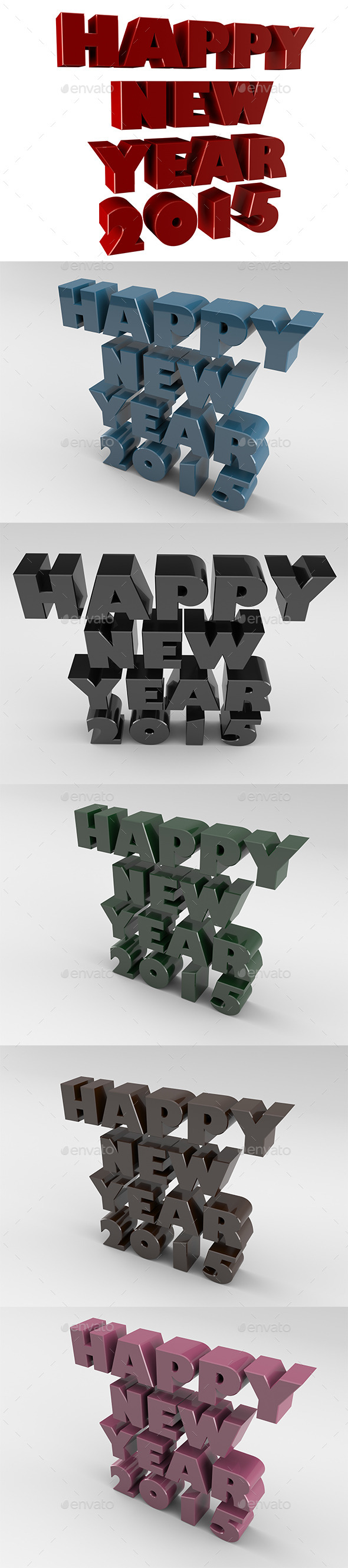 GraphicRiver Happy New Year 2015 9221238