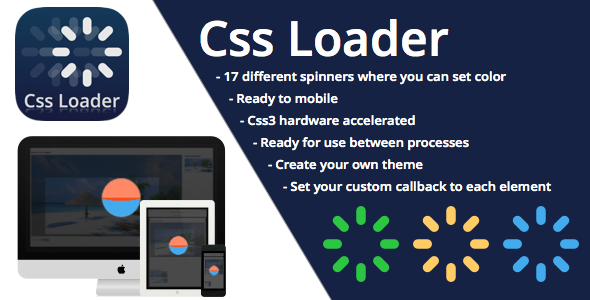CodeCanyon CSS3 Loader and Preloader 9214398