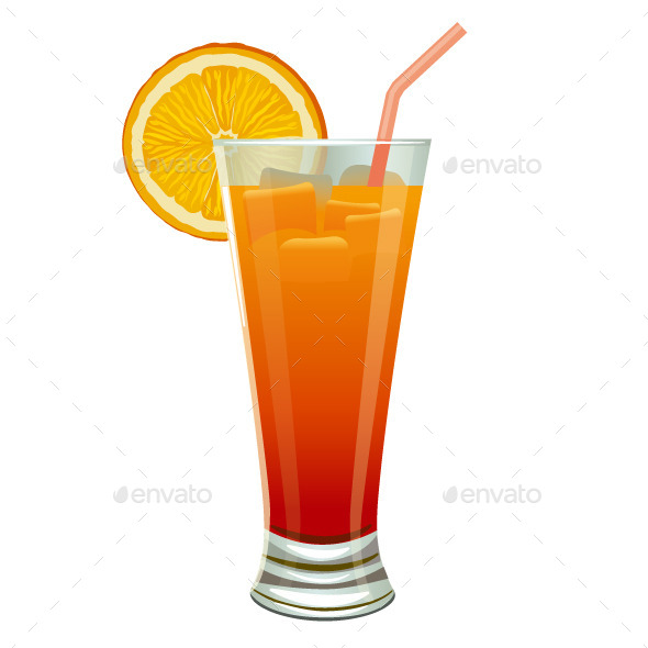 GraphicRiver Orange Cocktail 9221260