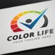Color Life Logo - GraphicRiver Item for Sale