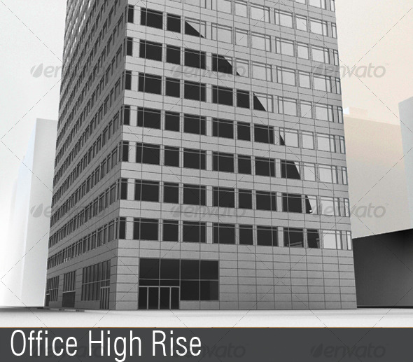 3DOcean Office Highrise 118281