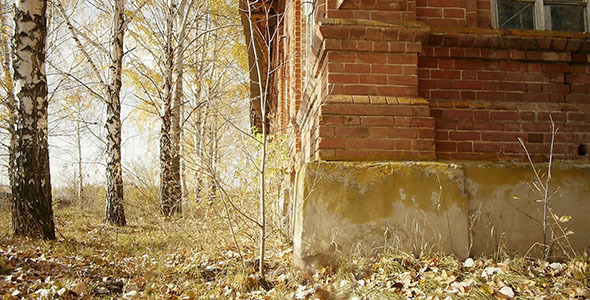 Abandoned Red Brick Building 7