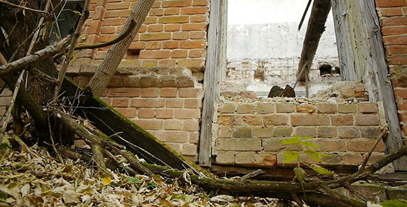 Abandoned Red Brick Building 6