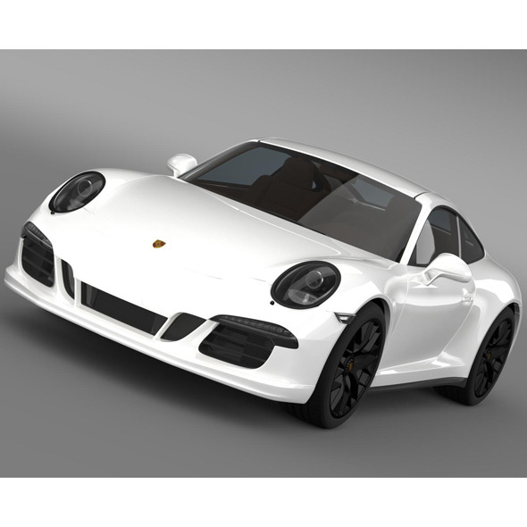 Porsche 911 Carrera 4 GTS Coupe 991 2015 - 3DOcean Item for Sale