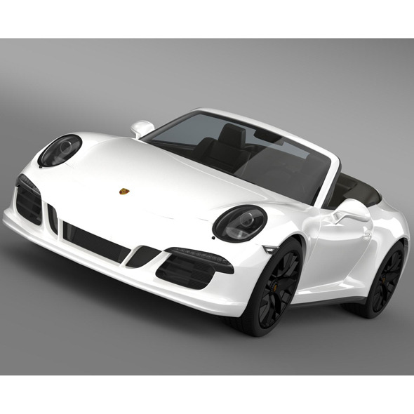 Porsche 911 Carrera GTS Cabriolet 991 2015 - 3DOcean Item for Sale