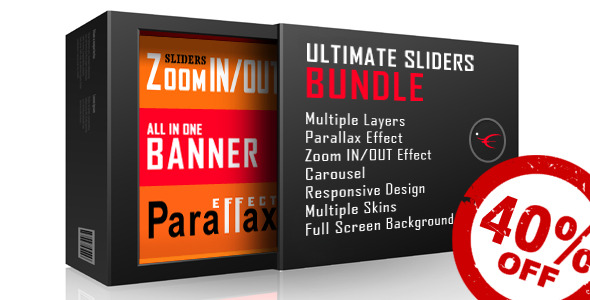 CodeCanyon Ultimate Sliders Bundle Layers Parallax Zoom 9211048