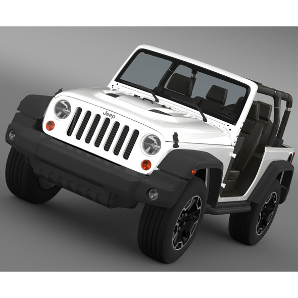 3DOcean Jeep Wrangler Rubicon 10th Anniversary 2014 9221555