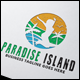 Paradise Island Logo - GraphicRiver Item for Sale
