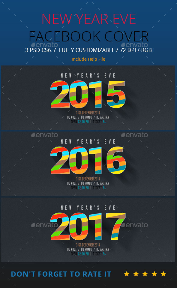 New Year Facebook Timeline - Facebook Timeline Covers Social Media