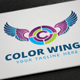 Color Wings Logo - GraphicRiver Item for Sale