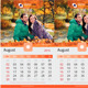 Clean Wall Calendar 2015 V2 - GraphicRiver Item for Sale